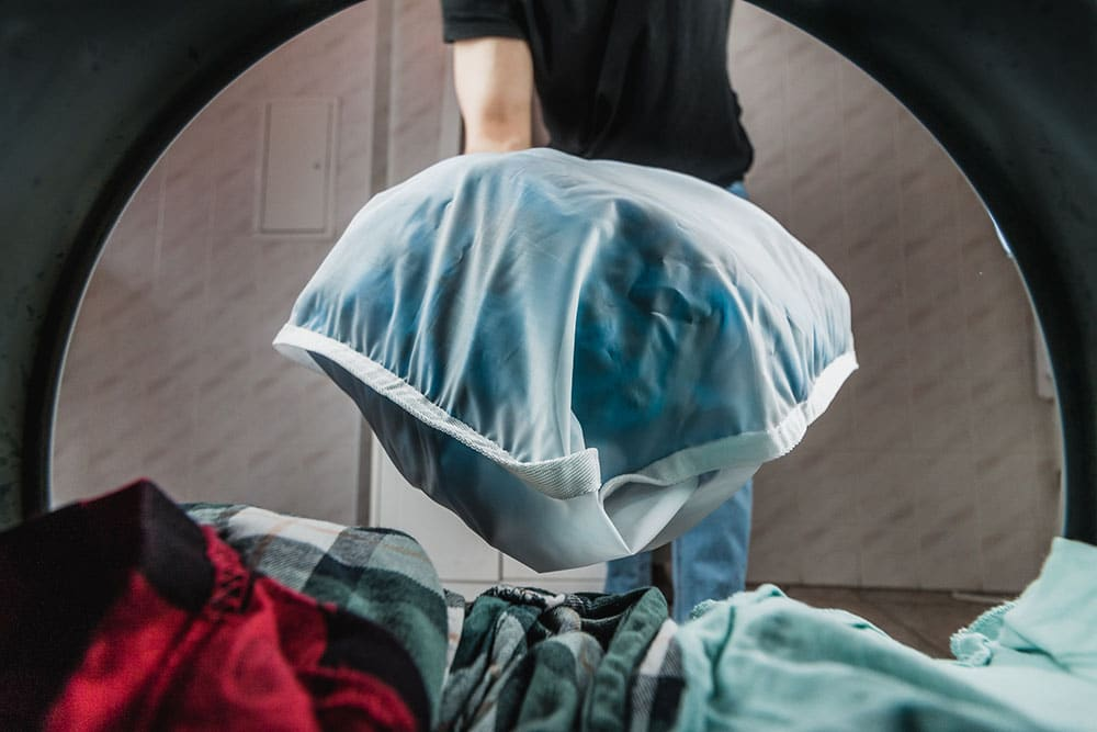 entretien du sac en machine a laver