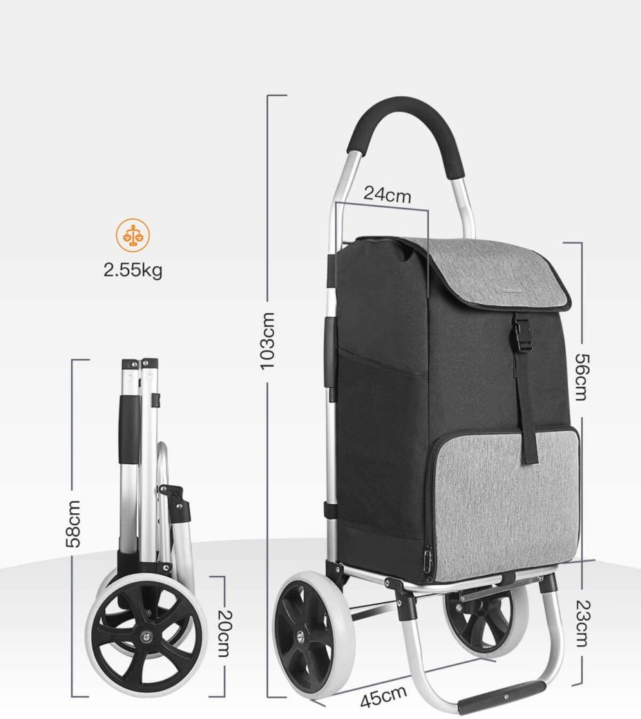chariot pliable Inateck